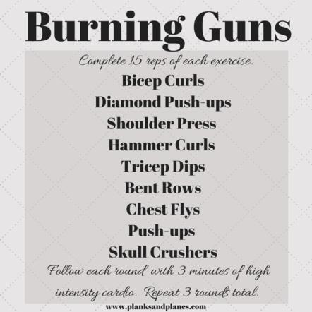 Burning Guns- Arm Workout