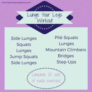 Lunge Your Legs Workout