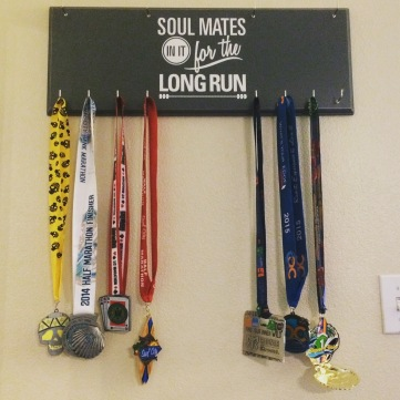 Race Medal Holder