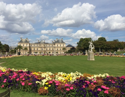 Luxembourg Gardens Paris France